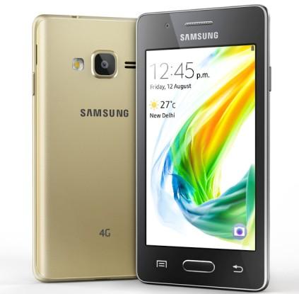 Smartphone Samsung Z2 Perdana dengan OS Tizen