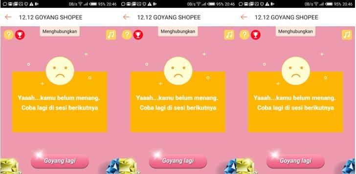 Server Shopee Down Goyang Shopee Error Dan Gagal Masuk Terus